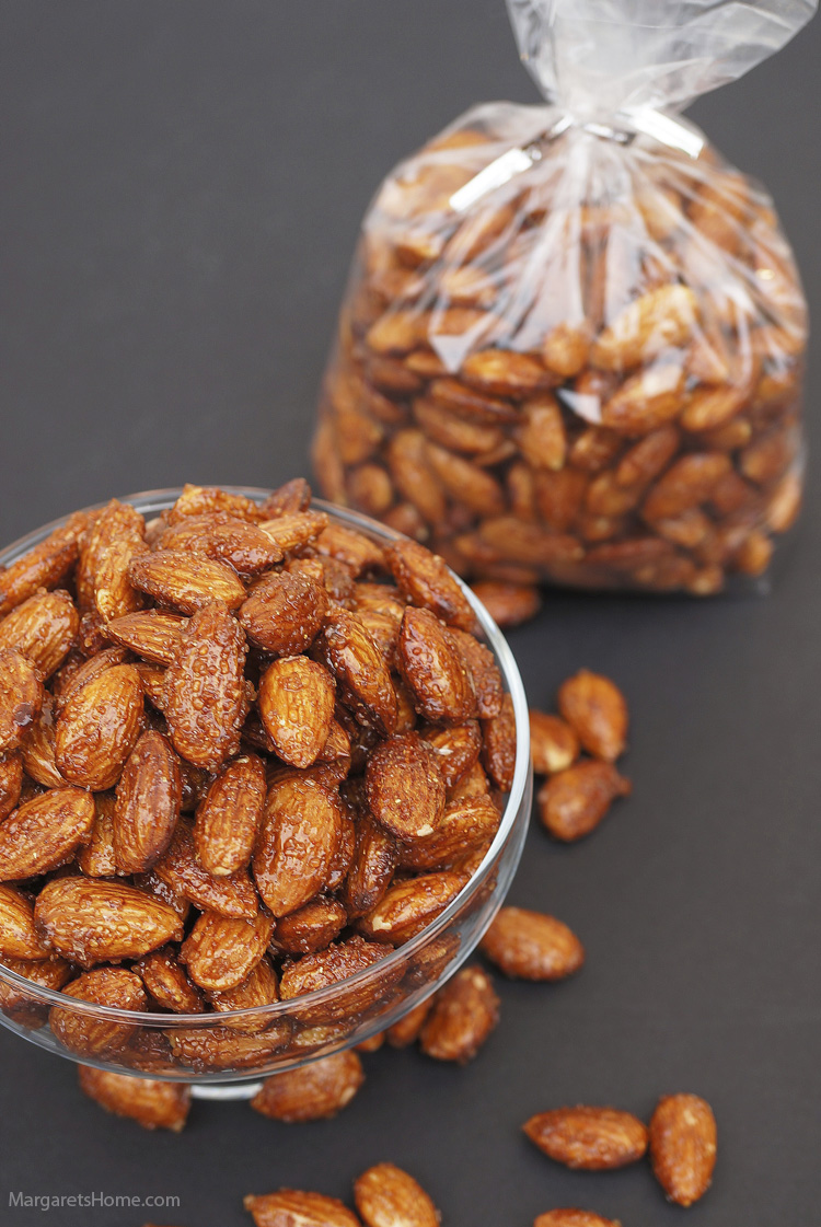 Honey & Spice Roasted Almonds4
