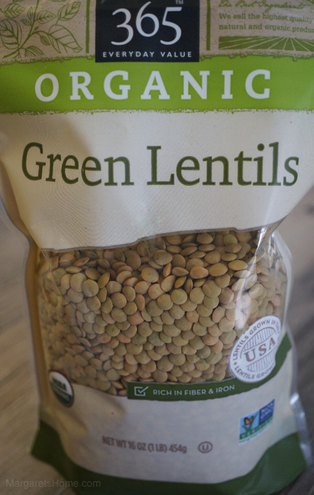 Lentil Soup Packet
