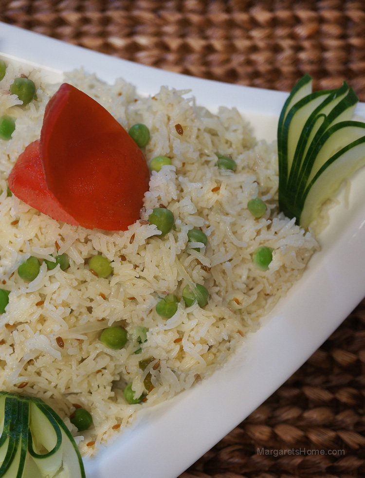 Peas and Cumin Pulao2