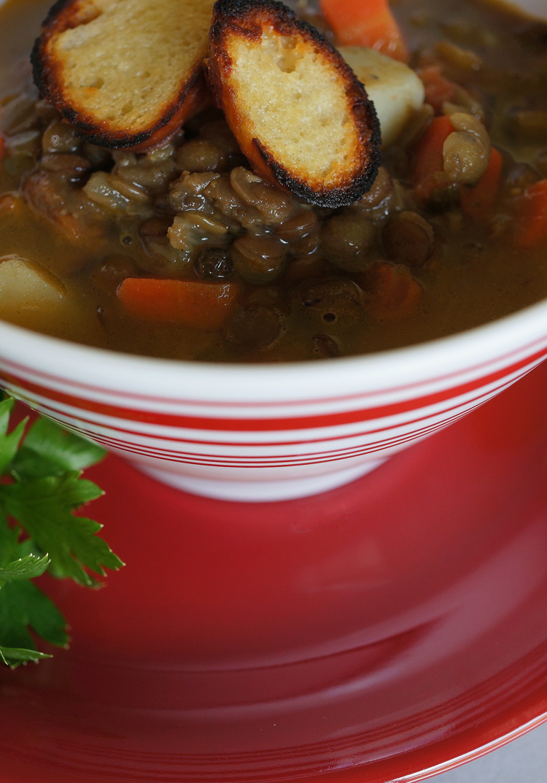 Lentil Soup with Rasam Powder3
